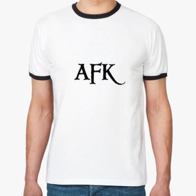 Футболка Ringer-T   AFK