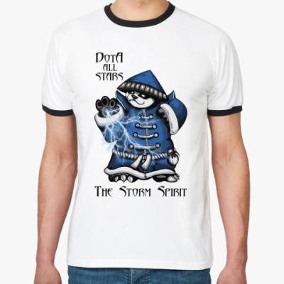 Футболка Ringer-T The Storm Spirit