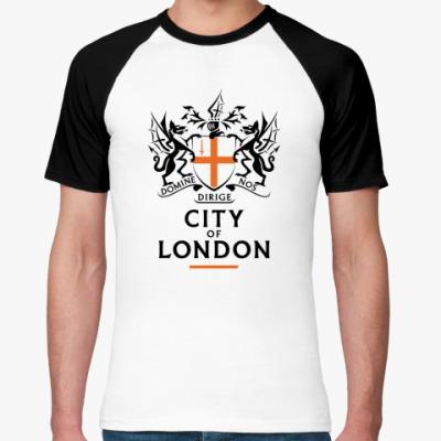 Футболка реглан  City of London