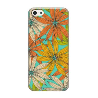 Чехол для iPhone 5/5s яркий узор