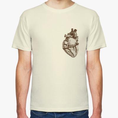 Футболка Анатомия-сердце