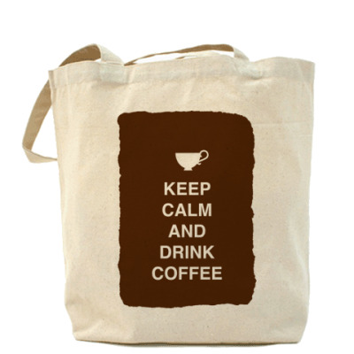 Сумка Keep calm and drink coffee