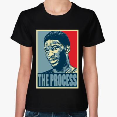 Женская футболка Джоэл Эмбиид