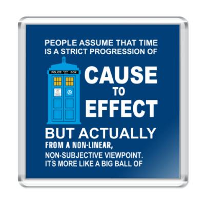 Магнит Doctor Who