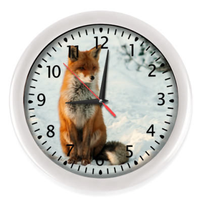Настенные часы Лиса