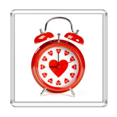 Магнит Время любить