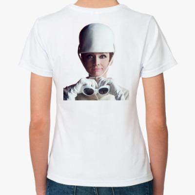 Классическая футболка Одри Хепберн