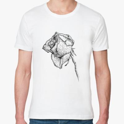 Футболка из органик-хлопка Dying rose