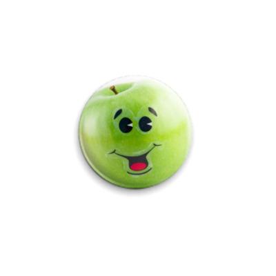 """Значок 25мм  25 мм """"Apple joy"""""""