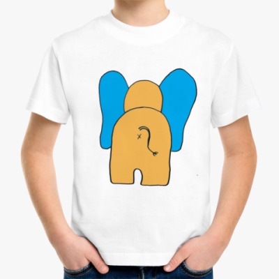 """Детская футболка Детская футболка """"Слоник"""""""