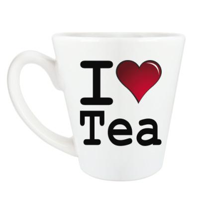 Чашка Латте I love Tea