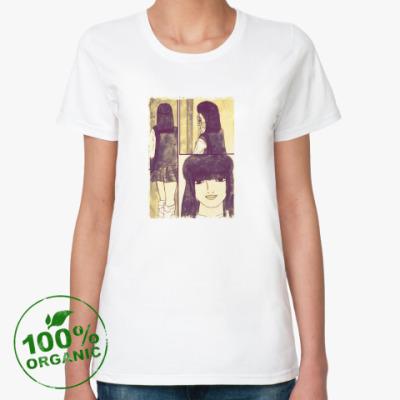 Женская футболка из органик-хлопка old time