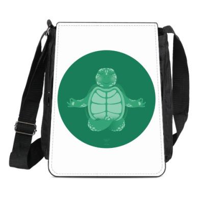 Сумка-планшет Animal Zen: T is for Turtle