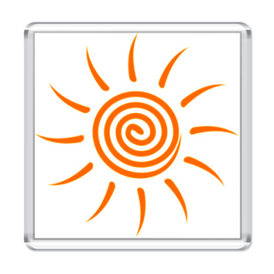 Магнит Солнышко
