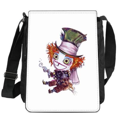 Сумка-планшет Безумный шляпник