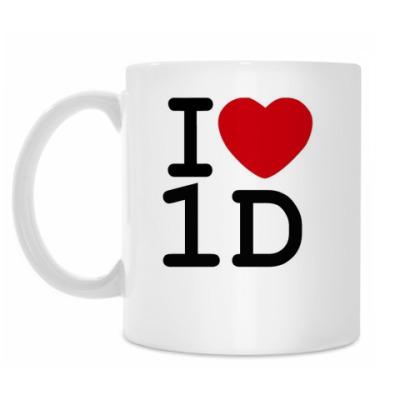 Кружка I love 1D