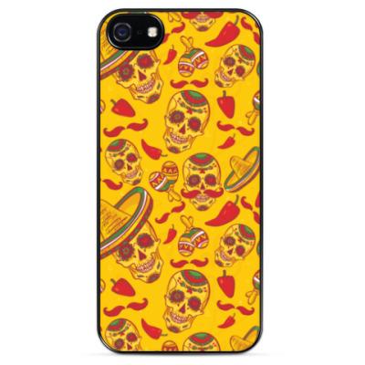 Чехол для iPhone Сахарные черепа