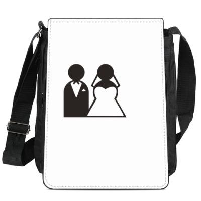 Сумка-планшет Just Married