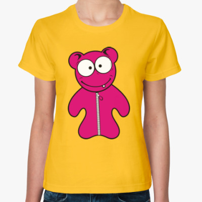 Женская футболка Мультяшки. Чудики. Веселье.