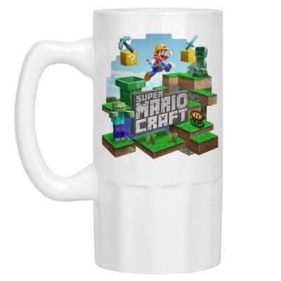 Пивная кружка Super Mario Craft