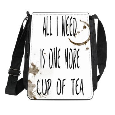 Сумка-планшет Чашка чая