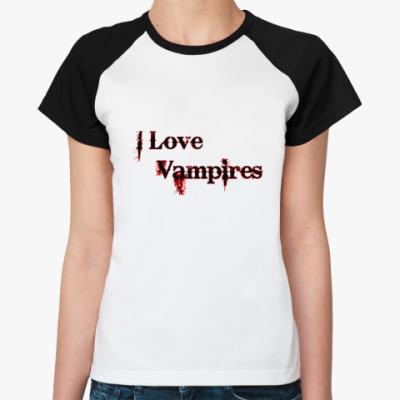 Женская футболка реглан Vampire