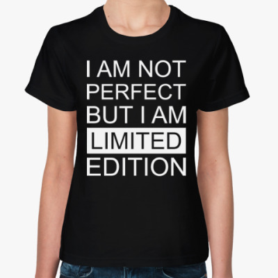 Женская футболка Limited Edition