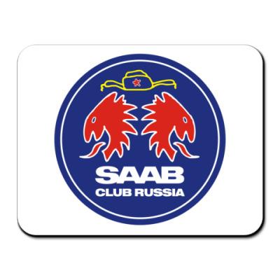 Коврик для мыши  SAAB-CLUB