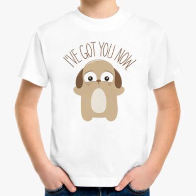 Детская футболка Держу тебя