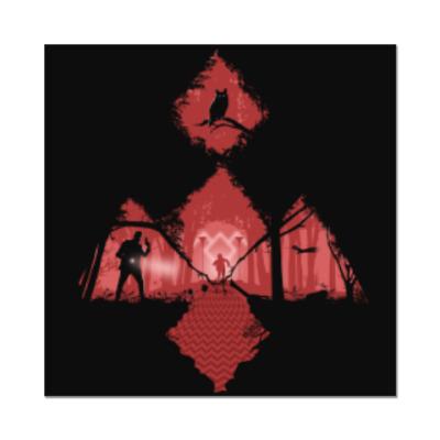 Наклейка (стикер) Сериал Твин Пикс Twin Peaks
