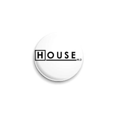 Значок 25мм  House