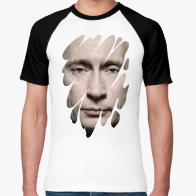 Футболка реглан Лик Путина