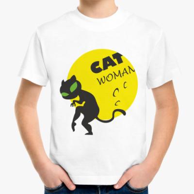 Детская футболка Женщина-кошка