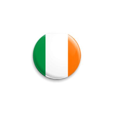 Значок 25мм  'Флаг Ирландии'