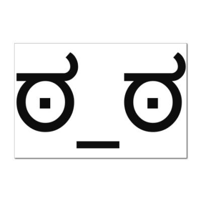 Наклейка (стикер)  ಠ_ಠ