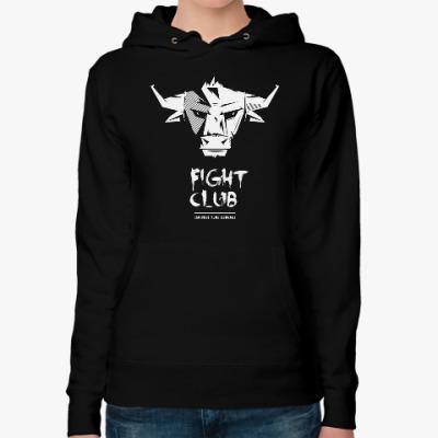 Женская толстовка худи Fight Club Bull