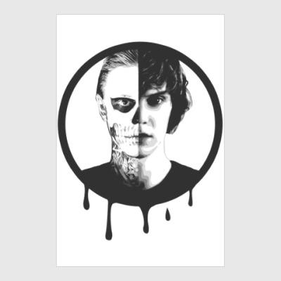 Постер Эван Питерс(Evan Peters)/AHS