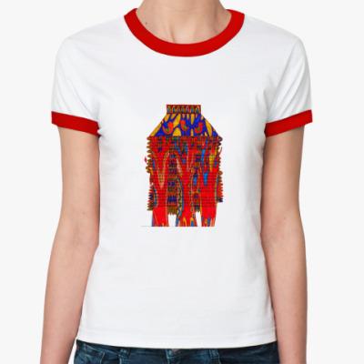 Женская футболка Ringer-T Птицы