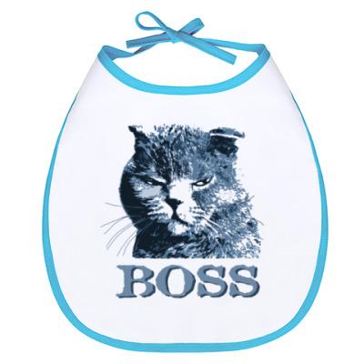 Слюнявчик BOSS