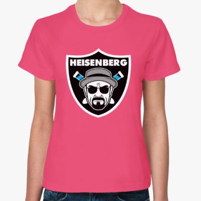 Женская футболка Heisenberg Raiders