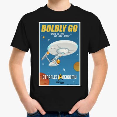 Детская футболка Star Trek Boldly Go