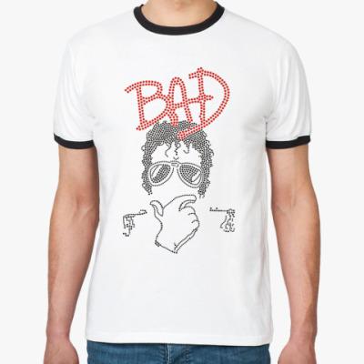 Футболка Ringer-T MJ Bad