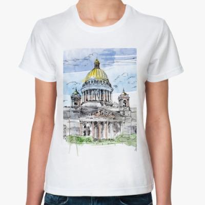 Классическая футболка Исаакиевский собор