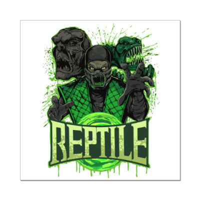 Наклейка (стикер) Reptile