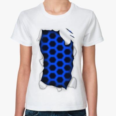 Классическая футболка 'Лазер'