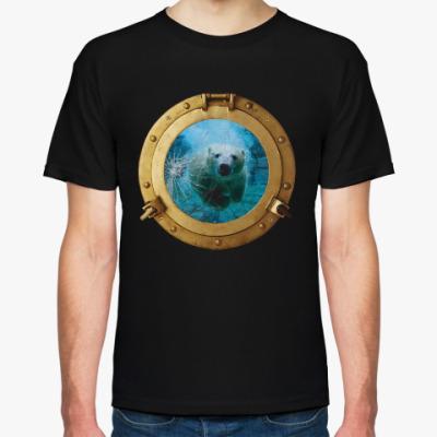 Футболка Иллюминатор в подводный мир