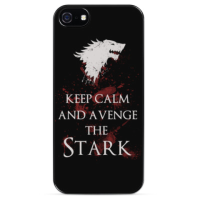 Чехол для iPhone KEEP CALM AND AVENGE THE STARK