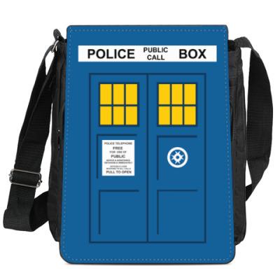 Сумка-планшет TARDIS