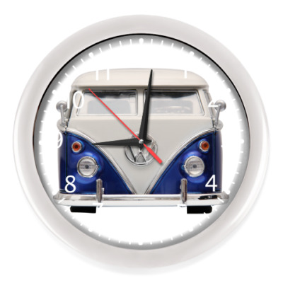 Настенные часы Volkswagen Bus