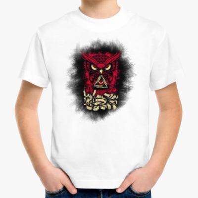 Детская футболка Сова (Owl) - всевидящее око